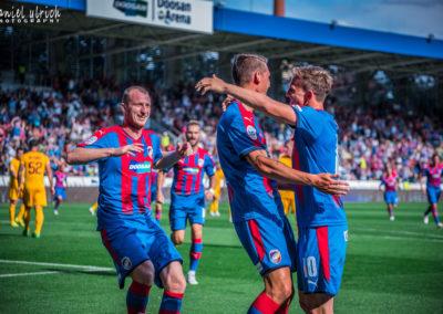 FC Viktoria Plzeň – FK Dukla Praha 4:0  (29.7.2017)